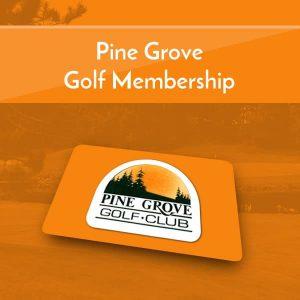 Pine Grove Golf Memberships