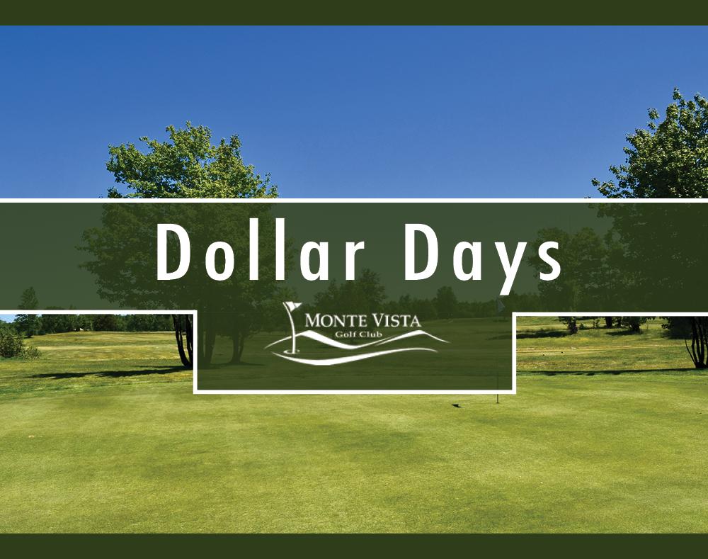 Dollar Day Graphic