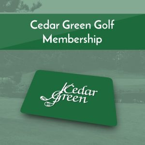 Cedar Green Golf Memberships