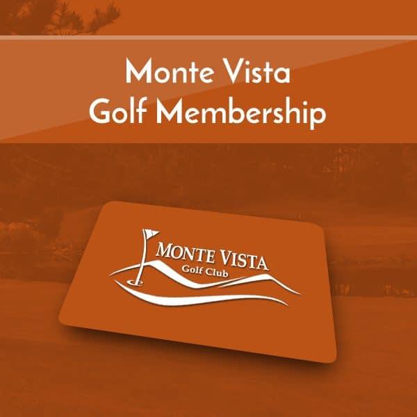 Monte Vista Golf Memberships